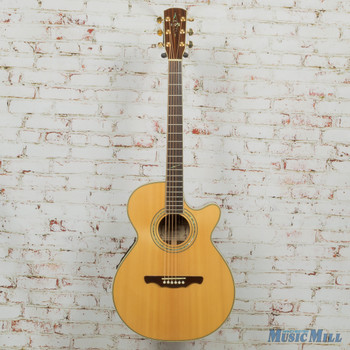 Alvarez PF90SC Acoustic-Electric Guitar Natural x5158 (USED)