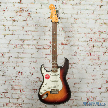 Squier Classic Vibe '60s Stratocaster® Left-Handed, Laurel Fingerboard, 3-Color Sunburst x2872