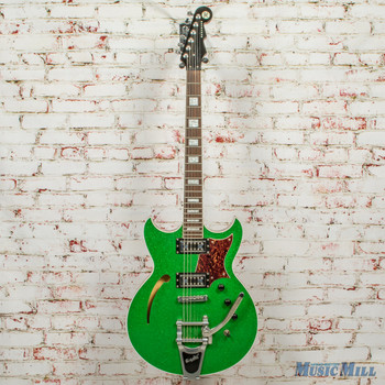 2013 Reverend Tricky Gomez LE Green Sparkle #8 of 13 x7305 (USED)