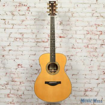 Yamaha LS-TA Concert Body Trans Acoustic Electric Guitar- Vintage Tint x0258