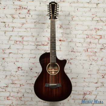 2016 Taylor 562ce 12-String Acoustic Electric Guitar Shaded Edgeburst x6058 (USED)