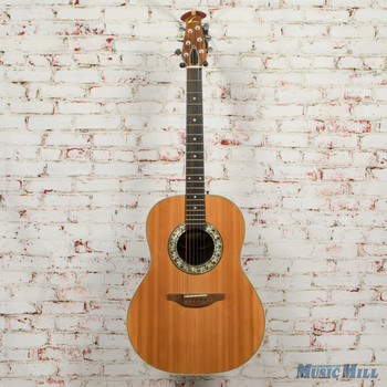 Vintage Ovation 1112-4 Balladeer 6-String Acoustic Guitar AS-IS x1471 (USED)