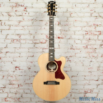 2019 Gibson Acoustic Parlor Rosewood Modern - Antique Natural x9080