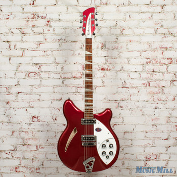 2013 Rickenbacker 360 Electric Guitar Ruby Red w/OHSC x0823 (USED)