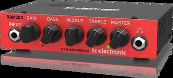 TC Electronic BAM200 200-Watt Compact Bass Head