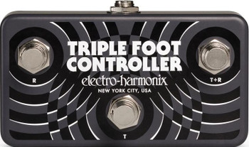 Electro-Harmonix Triple Foot Controller 3-Button Footswitch