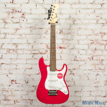 Squier Mini Strat Electric Guitar Torino Red x3442