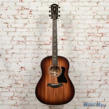 Taylor 327e Acoustic Electric Guitar - V-Class - Shaded Edge Burst x9083