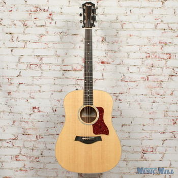 2017 Taylor 210e Deluxe Acoustic Electric Guitar Natural x7277 (USED)