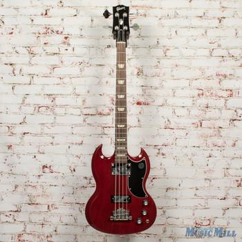 Gibson SG Standard Bass - Heritage Cherry + FREE HOODED SWEATSHIRT