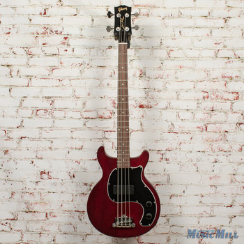 Gibson Les Paul Junior Tribute DC Bass Worn Cherry x0148