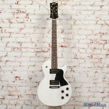 Gibson Les Paul Special Tribute Humbucker - Worn White x0246 + FREE HOODED SWEATSHIRT