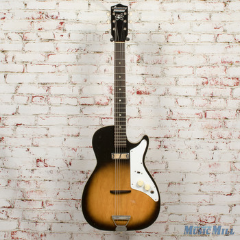 Vintage Harmony H45 Stratotone Electric Guitar 2-Color Sunburst x5759 (USED)