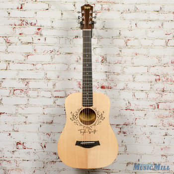 2018 Taylor TS-BTe Taylor Swift Baby Taylor AE Guitar 2101158525 (USED)