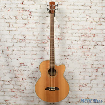Alvarez Regent Series RB30SC Acoustic-Electric Bass Natural x6015 (USED)