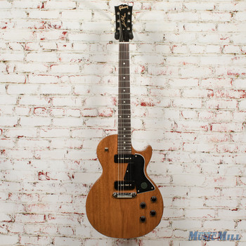 Gibson Les Paul Special Tribute P-90 - Natural Walnut - x0120 + FREE HOODED SWEATSHIRT