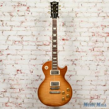 2004 Gibson Les Paul Standard Premium Plus Electric Guitar Honeyburst x4346 w/OHSC (USED)