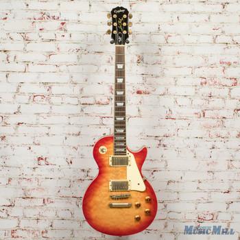 2006 Epiphone Les Paul Ultra Electric Guitar Cherry Burst x0514 (USED)