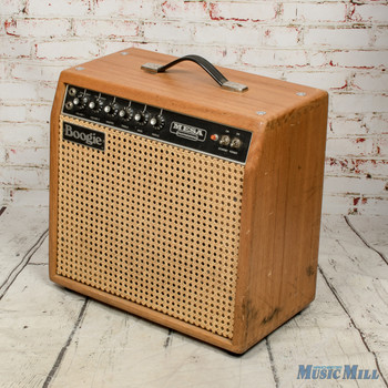 Vintage 1970s Mesa Boogie Mark I Oak and Wicker Guitar Amp x2083 (USED)