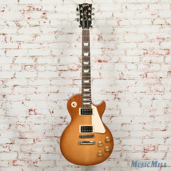 2016 Gibson Les Paul Tribute HP Electric Guitar Faded Honey x5894 (USED)