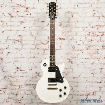 2016 Epiphone Les Paul Studio Electric Guitar Alpine White x1864 (USED)