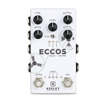 Keeley ECCOS Stereo Flanged Tape Delay & Looper