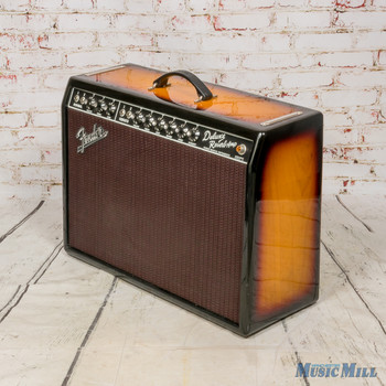 Fender FSR '65 Deluxe Reverb Reissue Ash 3 Tone Sunburst x5479 (USED)