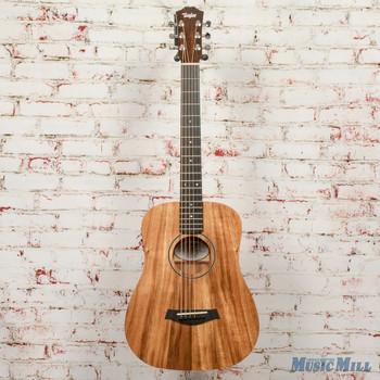 2019 Taylor BTE-Koa Baby Taylor Acoustic Electric Guitar Natural x9553