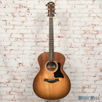 2019 Taylor 114E-SB Sunburst Grand Auditorium Acoustic Electric Guitar x9486