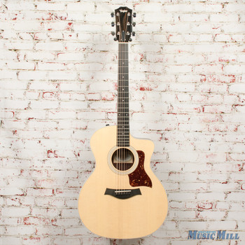 2019 Taylor 214ce Rosewood Acoustic Electric Guitar Natural x9082 (USED)