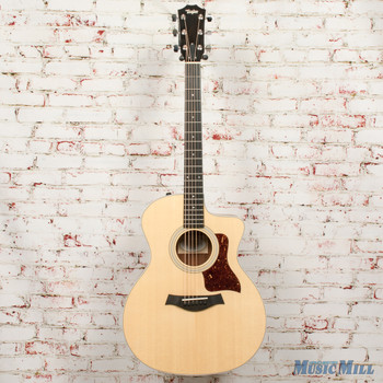 2019 Taylor 214ce - Layered Koa Back and Sides Guitar Natural x9249 (USED)