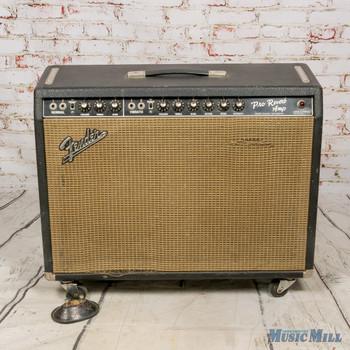1966 Fender Pro Reverb Guitar Combo Amplifer (USED)