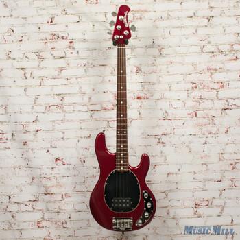 2002 Ernie Ball Music Man StingRay 3 EQ H Bass Candy Red w/OHSC (USED)