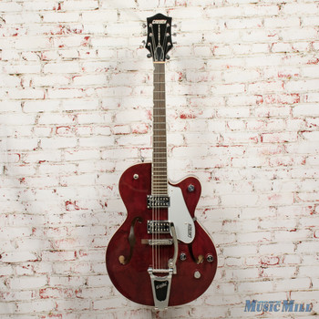 2012 Gretsch G5120 Hollow Body Electric Guitar Refinished Wine Red x4244 (USED)