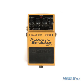 Boss AC3 Acoustic Simulator x5721 (USED)