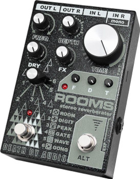 Death By Audio - Rooms - Stereo Reverb Pedal