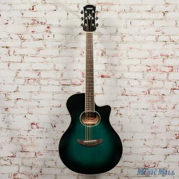 Yamaha APX600 Thin-Body Acoustic-Electric Oriental Blue Burst x7048