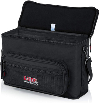 Gator Cases Padded Microphone Carry Bag; Holds (5) Wireless Microphone Systems (GM-5W)