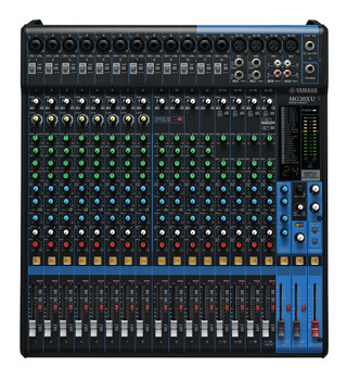 Yamaha MG20XU 20 Channel Mixer w/FX