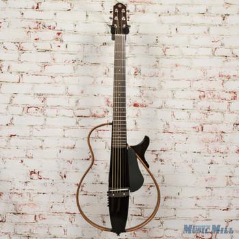 Yamaha Steel String Silent Guitar Trans Black x0142
