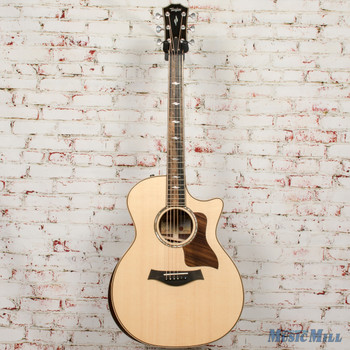 2019 Taylor 814ce Deluxe V-Class - Natural Sitka Spruce Top Guitar x69010