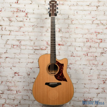 2011 Yamaha A3M Acoustic Electric Guitar Vintage Natural x1005 (USED)