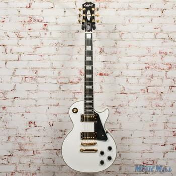 Epiphone Les Paul Custom - Alpine White x0944
