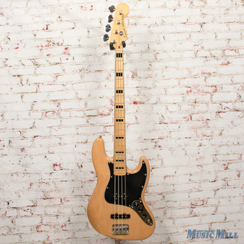 2018 Squier Classic Vibe '70s Jazz Bass®, Maple Fingerboard, Natural DEMO ics18194157