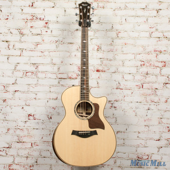 2019 Taylor 814ce Deluxe V-Class - Natural Sitka Spruce Top Guitar x9027