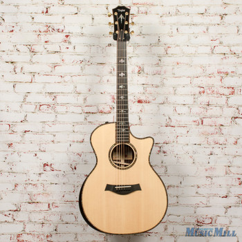 2019 Taylor 914ce V-Class Acoustic Electric Guitar Natural x9016