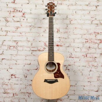 2020 Taylor GS Mini-e Black Limba LTD Acoustic-Electric x0231