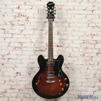 1997 Epiphone Dot MIK Violin Sunburst Electric Guitar (USED)