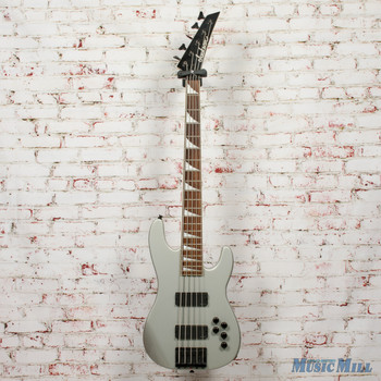 Jackson JSV3 5 String Bass Silver x2268 (USED)