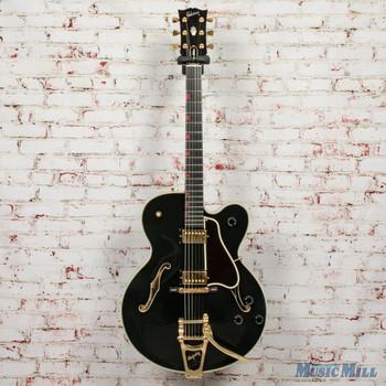 1990 Gibson Chet Atkins Country Gentleman Ebony w/OHSC x0501 (USED)